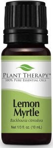 Plant Therapy Lemon Myrtle Essential Oil for Aromatherapy